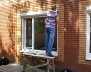 Ремонт алюминиевых и металлопластиковых дверей Киев,  замена петель